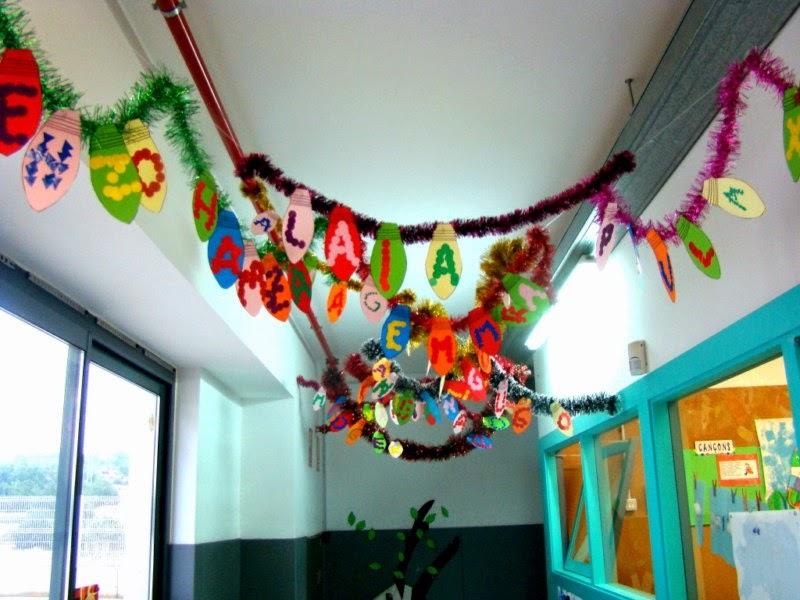 Els nostres moments a l 39 aula d 39 infantil decoraci n for Decoracion navidena infantil