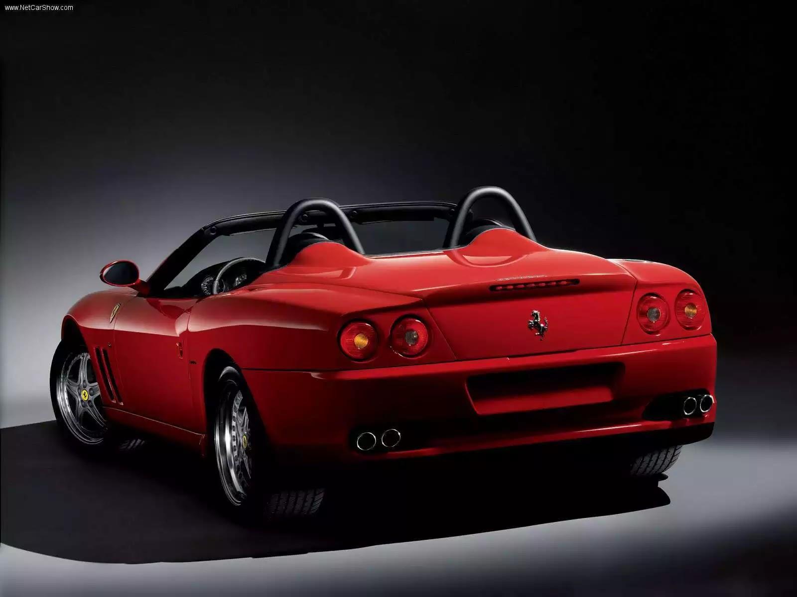 Hình ảnh siêu xe Ferrari 550 Barchetta Pininfarina 2001 & nội ngoại thất