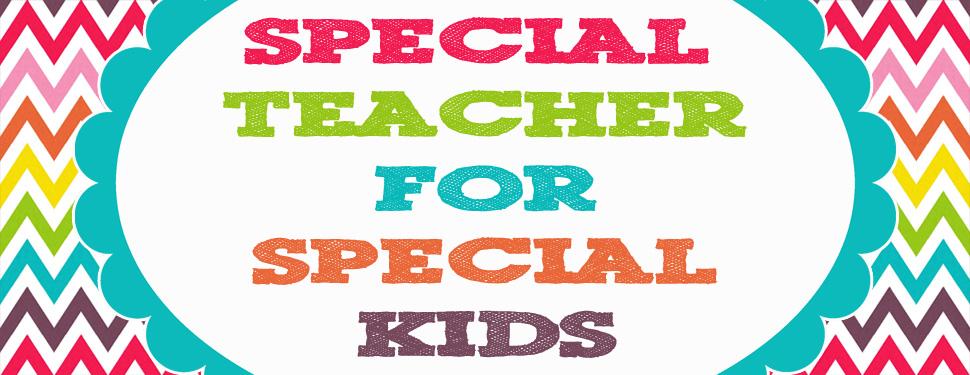 Special Teacher for Special Kids