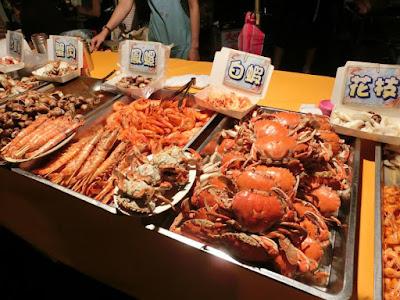 Seafood Fiesta at Keelung Night Market