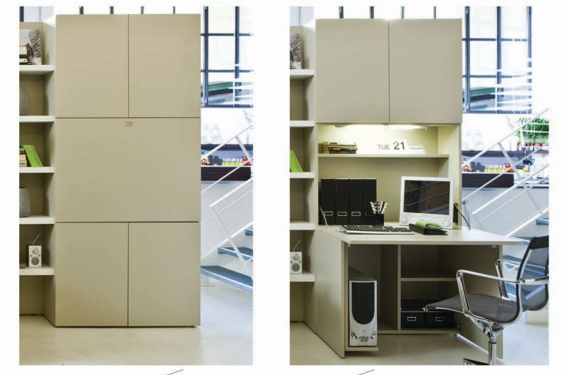 Space Saving Designs From Resource Furniture Comfort Zone