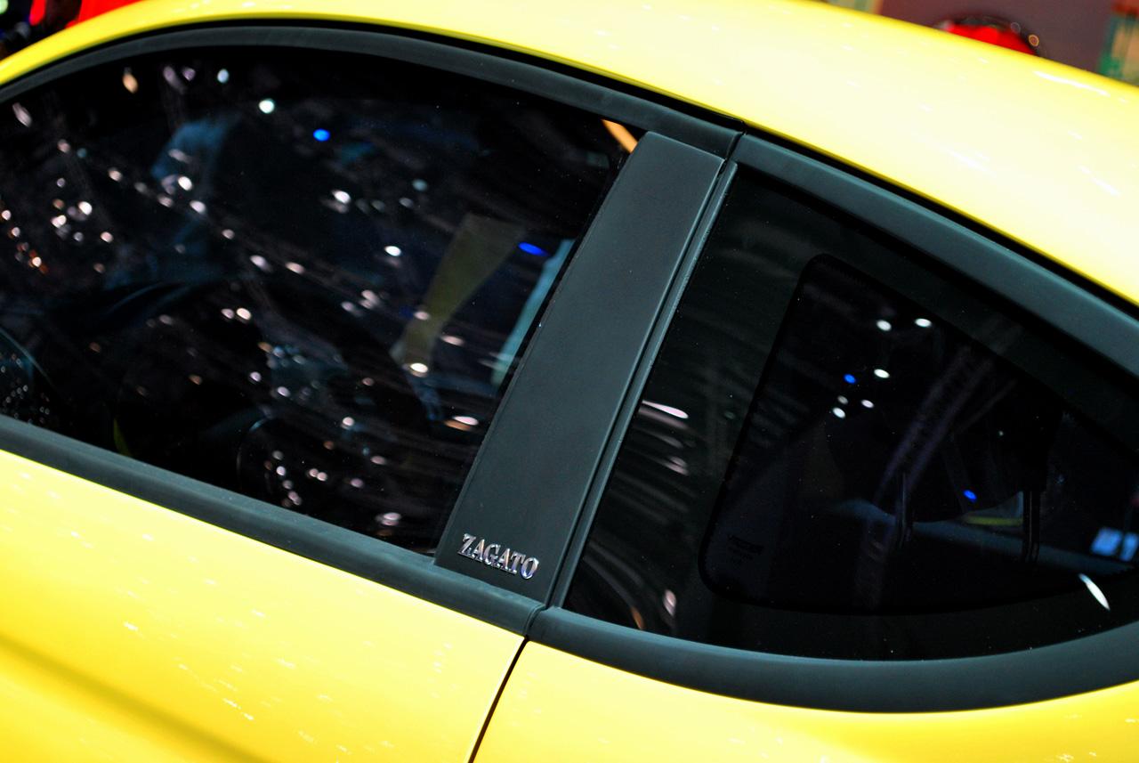 2012 FIAT 500 COUPE ZAGATO INTERIOR DESIGN