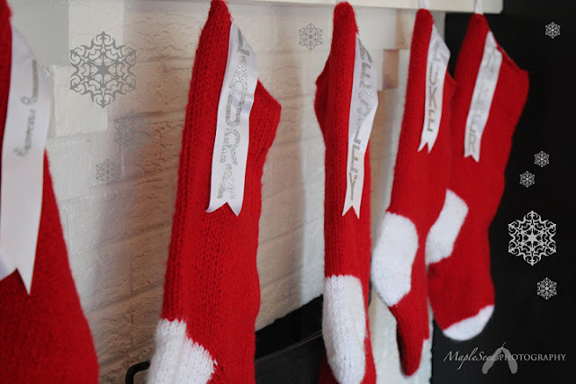 MapleSeeds Home: Pattern: Giant Knitted Christmas Stocking
