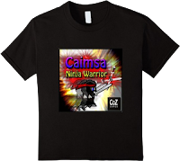 caimsa ninja warrior official t-shirt