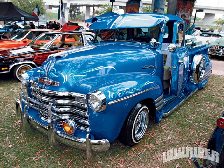 Chevy Truck Lowrider Autos Post