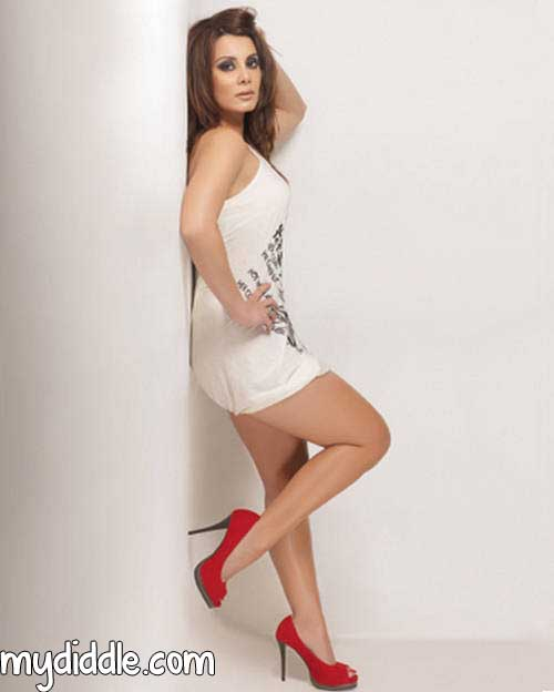 Minissha Lamba  - Minissha Lamba Hot Pic against the Wall