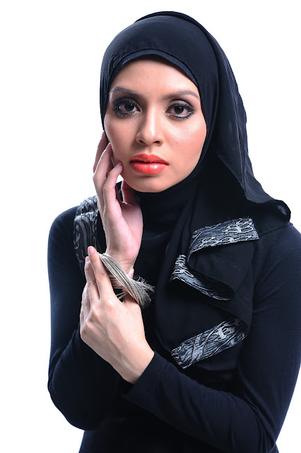 Adibah Karimah photoshoot by photographer Hafiz