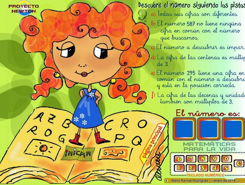 http://www3.gobiernodecanarias.org/medusa/eltanquematematico/proyectoNEWTON/descubreelnumero/descubreelnumero_1p.html