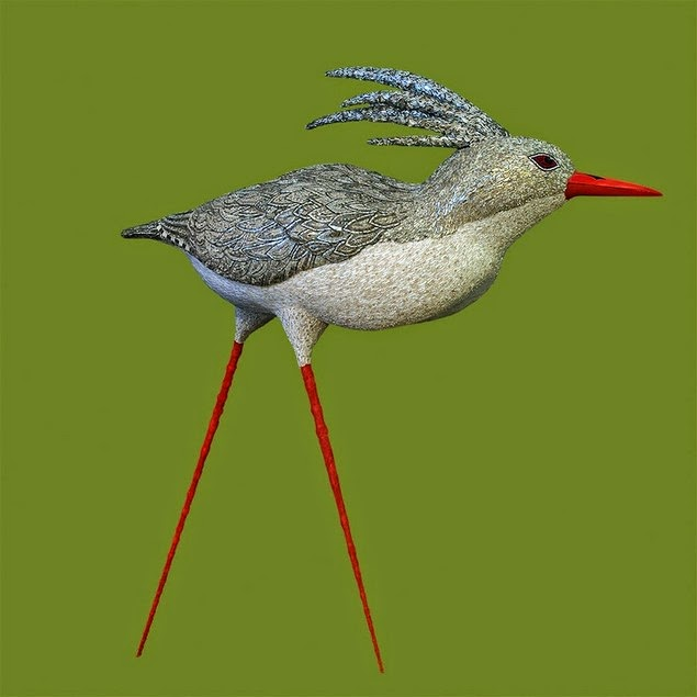mosaic bird sculptures dusciana bravura-11