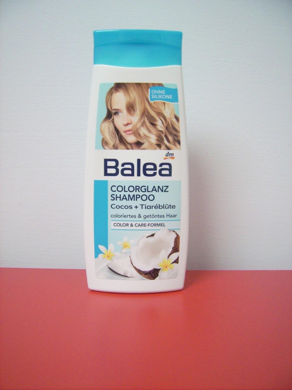 coconut shampoo balea