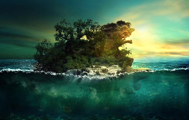 Tutorial Manipulasi Foto Aquatic Dengan Photoshop