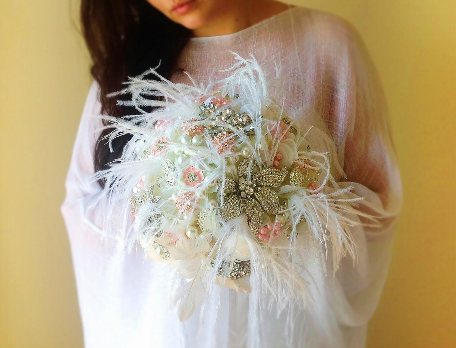 Brooch bouquet Great Gatsby