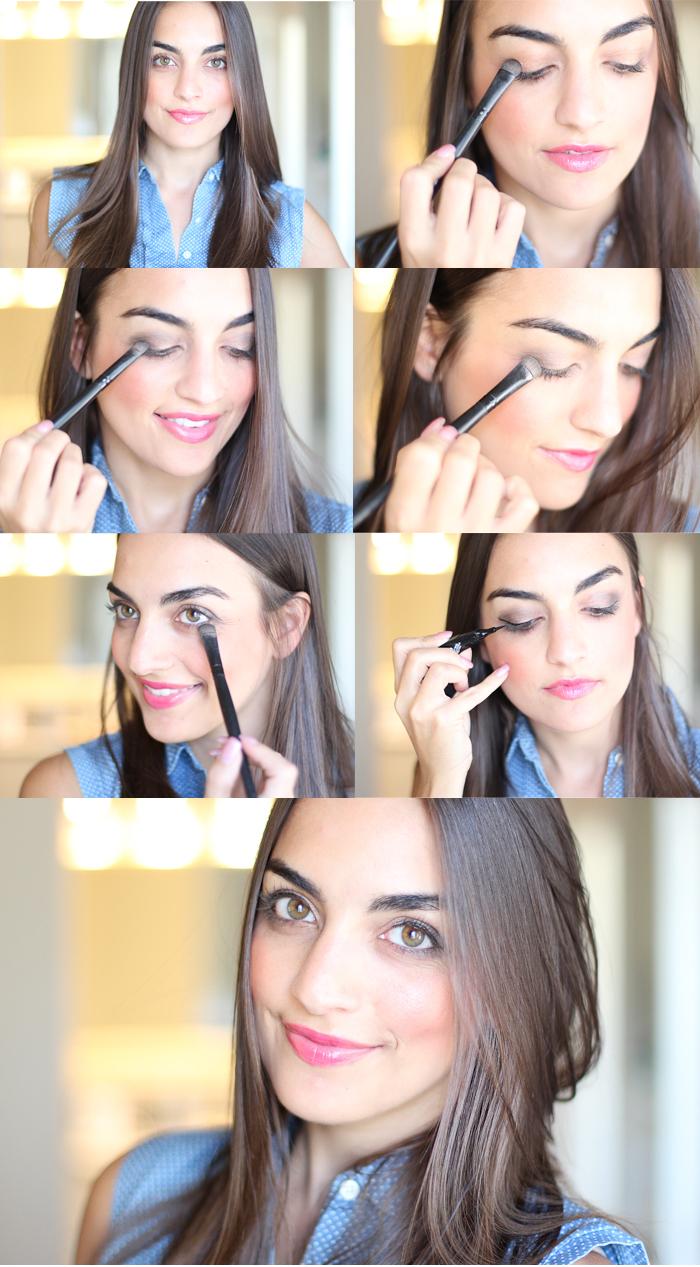 love olia eye makeup tutorial, smokey eye tutorial, target products