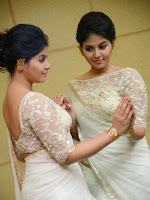 Anjali Glamorous Photos in saree at Geethanjali event-cover-photo