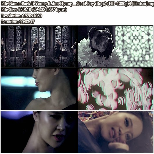 Download MV Baek Ji Young (백지영) ft. Jun Hyung (용재순) (BEAST/B2ST/비스트) - Good Boy (Bugs Full HD 1080p)