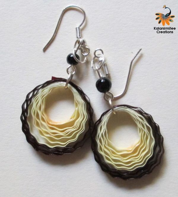 Quilling Earrings Designs Images : Quilled earrings Kalanirmitee Creations