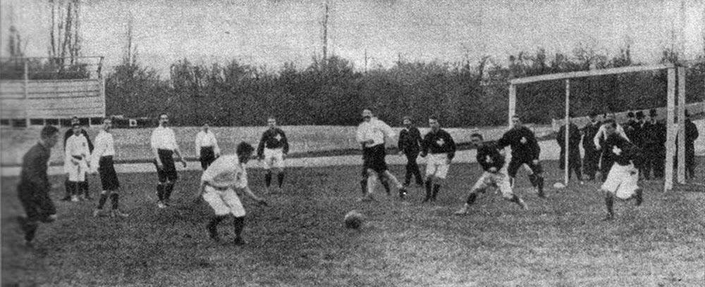 L'histoire du jeu Football