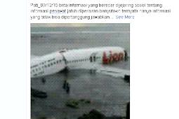 Inilah Kenapa Penyebar Hoax Pesawat Jatuh di Pati Berdosa Besar
