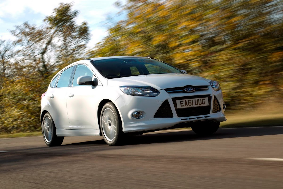 Ford Focus Zetec S for U.K.