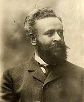 Alberto Franchetti. Photograph by Giovanni Artico circa 1906.