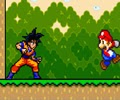 Le jeu Mario Dragon Ball