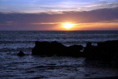 (Canary Islands) - Lanzarote - Sunset El Golfo