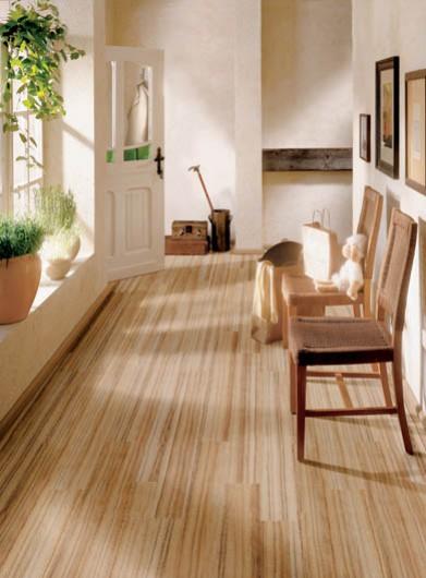 estilo rustico pisos de madera tratada para ambientes