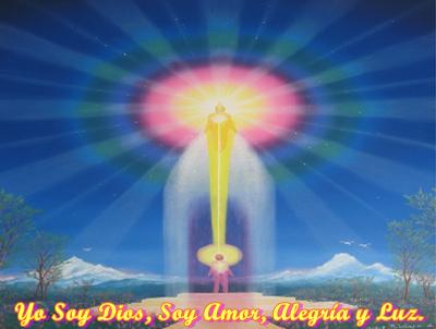 Hijos Míos, todos Uds. son parte de mi verdadero Ser, son el Yo de Dios.