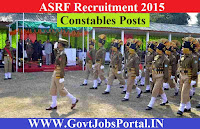 ASRF RECRUITMENT 2015