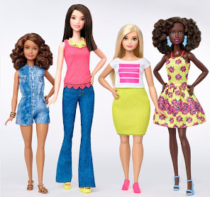 Ecco la Barbie curvy