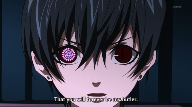 Kuroshitsuji II; anime + amor + dinero = basura