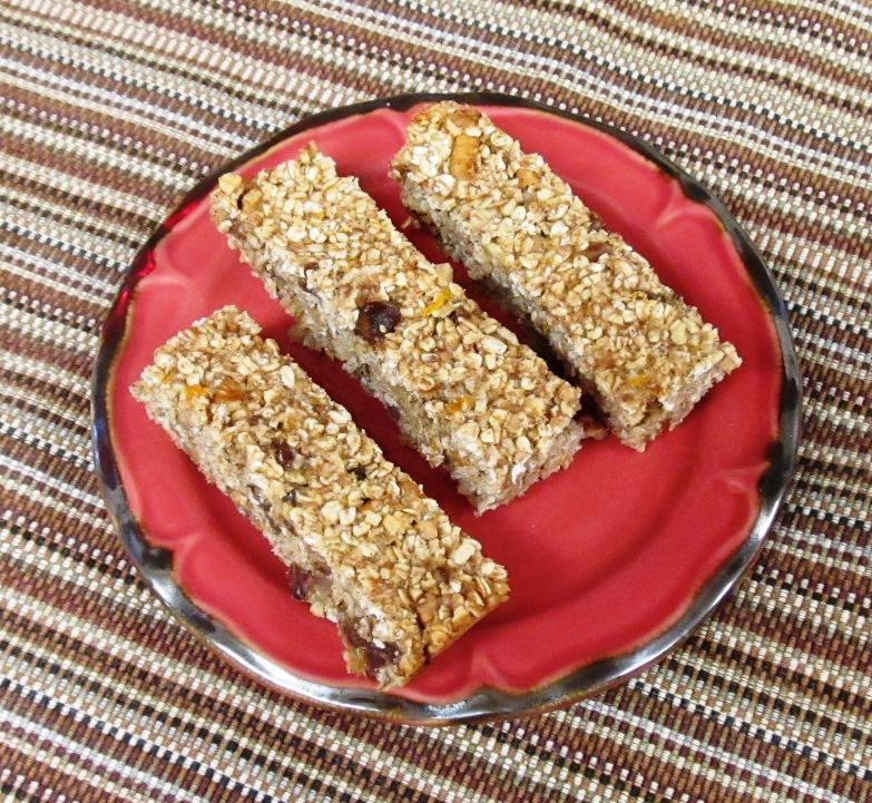 Debbi Does Dinner... Healthy & Low Calorie: Orange Pecan Granola Bars