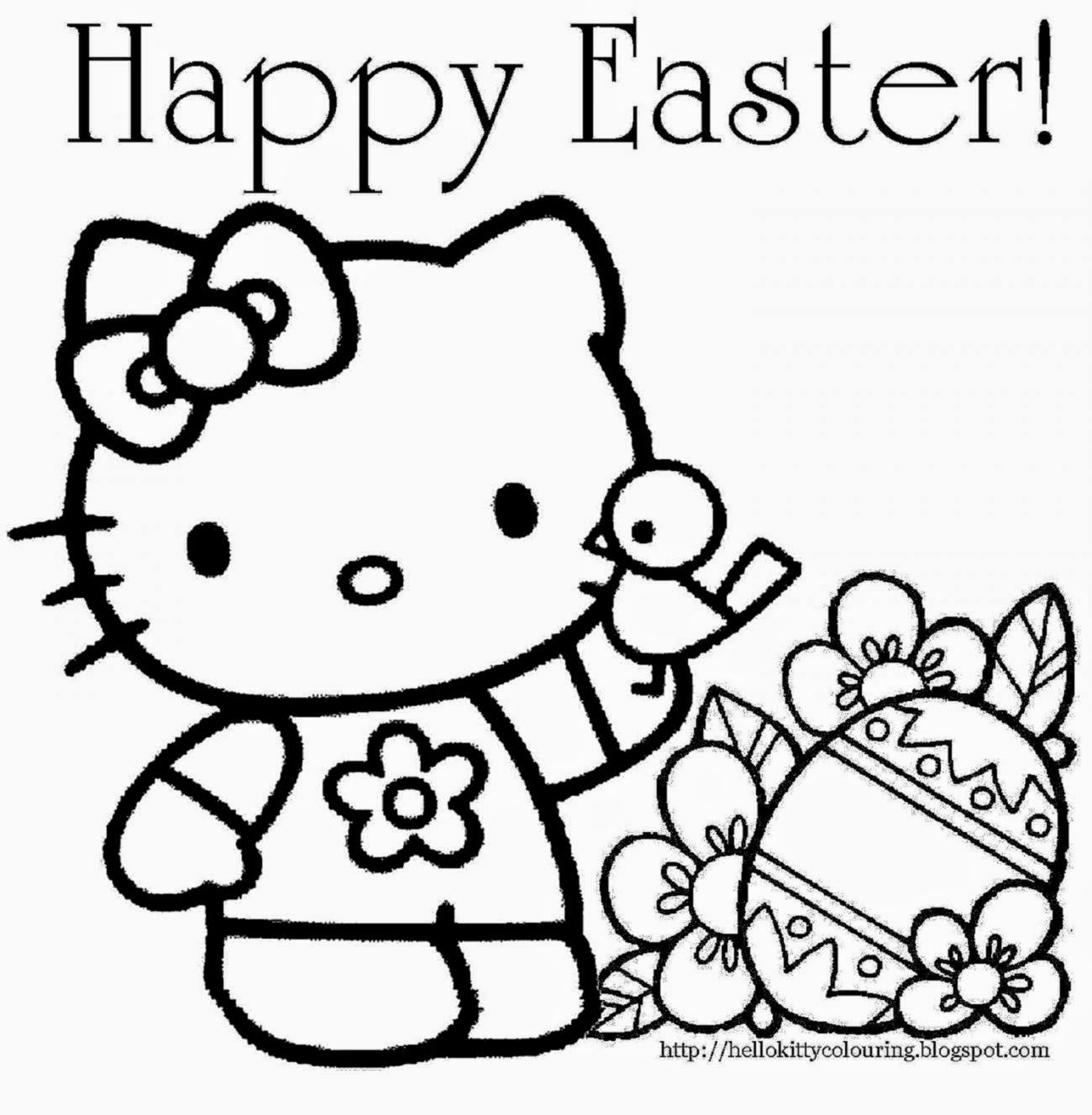 Printable coloring pages elmo - Happy Easter Coloring Pages Printable