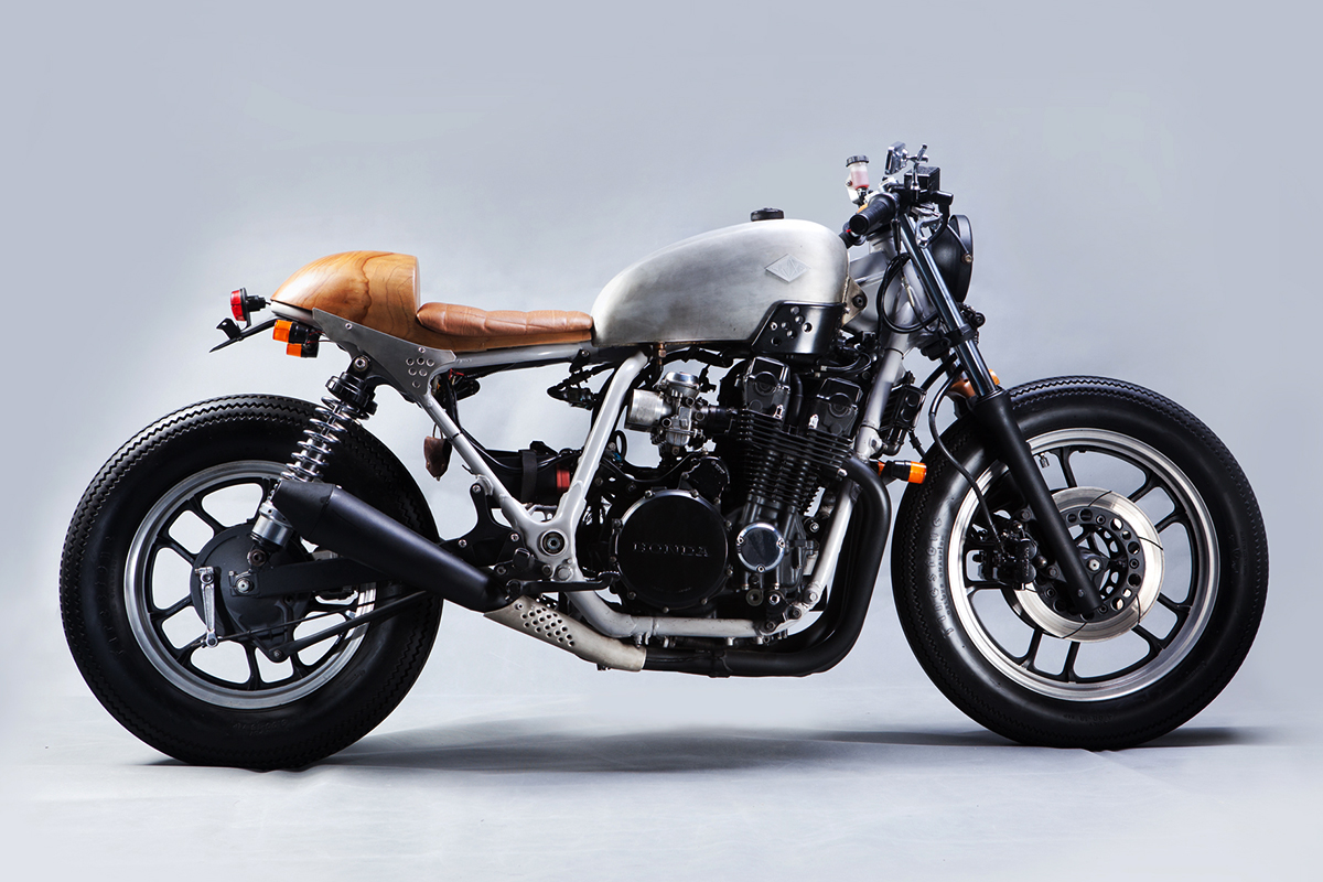 Baba Beruang Honda Cafe Racer | Return of the Cafe Racers