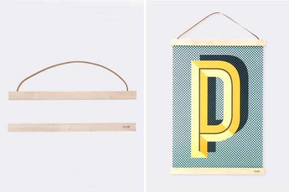 DIY: colgador para láminas de madera