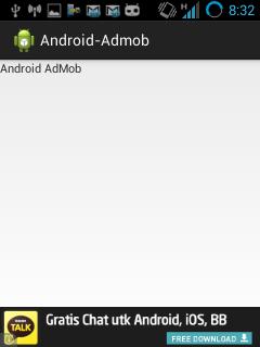 Tutorial Menampilkan Iklan AdMob di Aplikasi Android Tutorial Menampilkan Iklan AdMob di Aplikasi Android Screenshot 2014 04 25 08 32 37