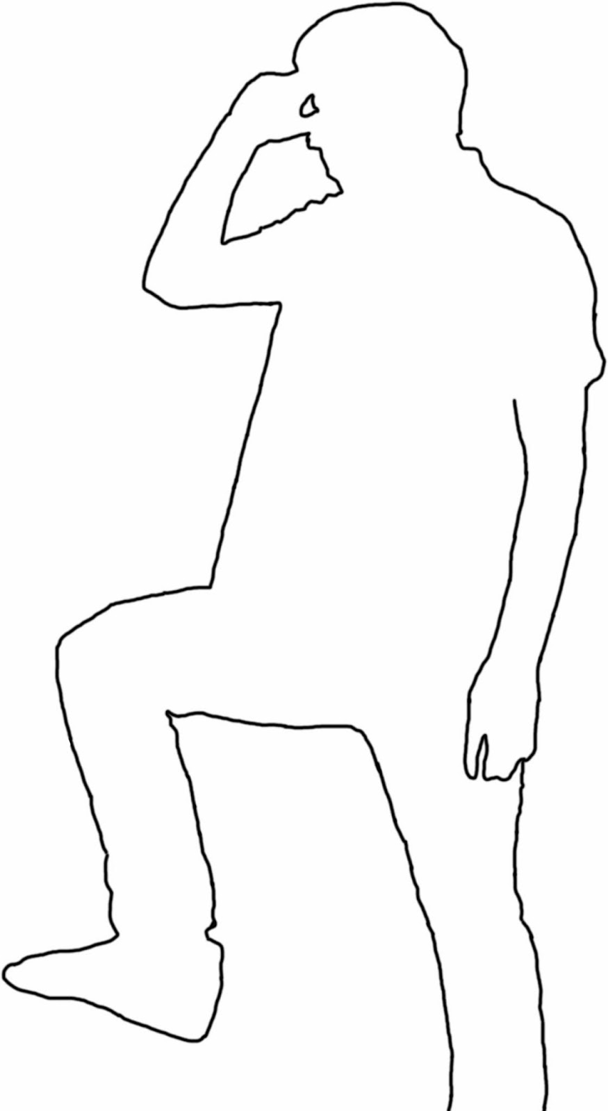 female body template