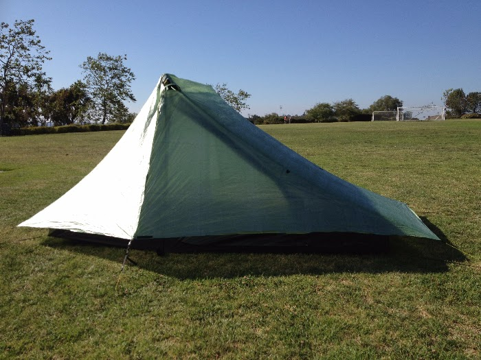SMD Haven in storm mode. & Sea to Summit Ultralight: Six Moon Designs Cuben Haven Tarp and ...
