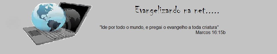 Evangelizando na net