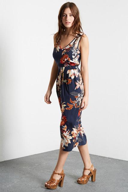 warehouse navy floral dress, warehouse navy dress, navy summer dress,