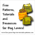 Free Purse, Bag &amp;Tote Patterns and Tutorials