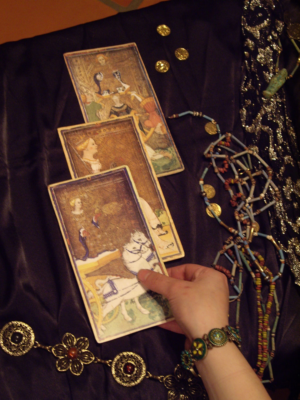 three card reading