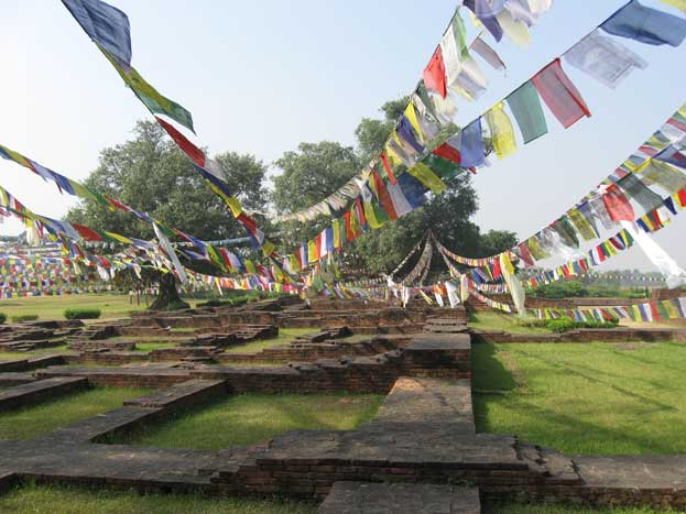 The birthplace of the Gautama Buddha Lumbini