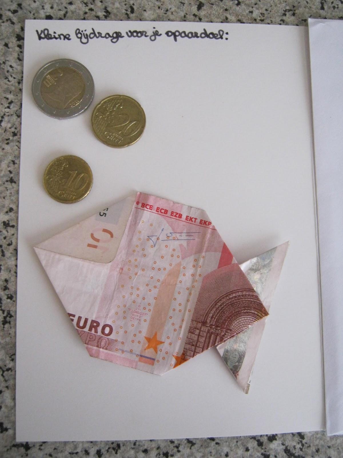 geld geven op leuke manier kinderen