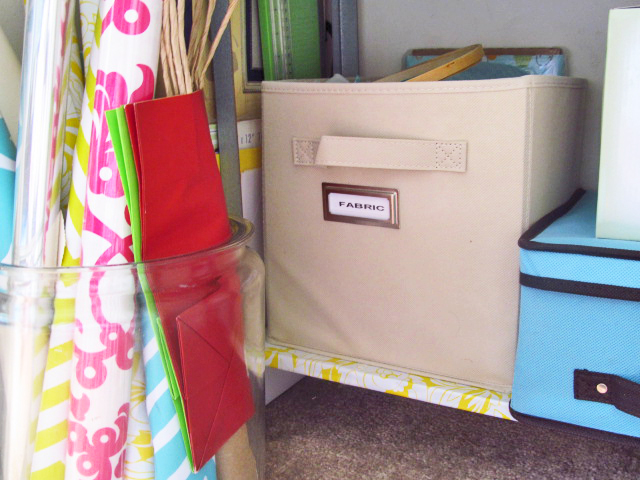 The House on Hillbrook: Weekend Project: Craft Closet Clean Out