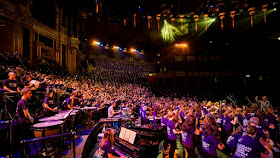 Massed ensemble at the Music For Youth Proms