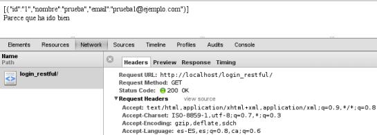 Ejemplo de cabecera de respuesta a una petición HTTP