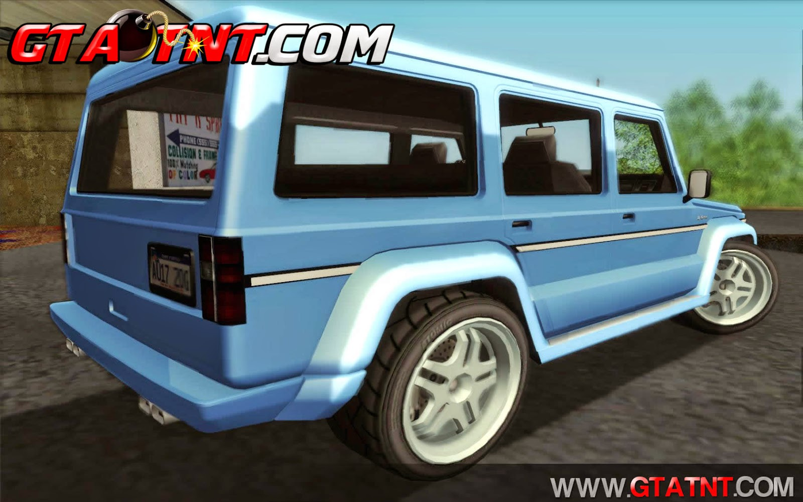 Benefactor Dubsta Convertido do GTA V para GTA San Andreas