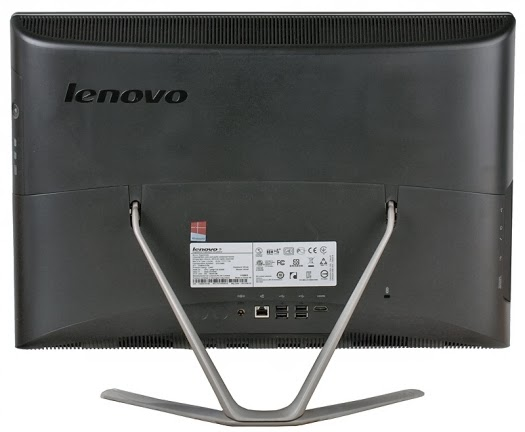 задняя сторона моноблока Lenovo IdeaCentre C440