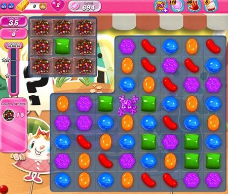 Candy Crush Saga 694